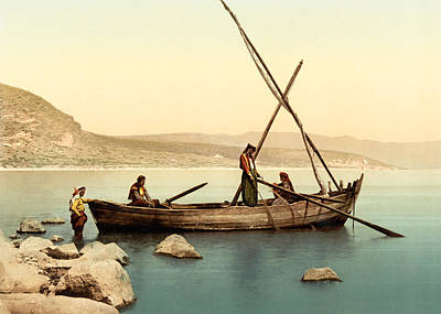 Photograph - Tiberias Sea Shore Of Galilee by Munir Alawi