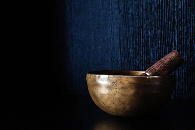 Photograph - Tibetan Singing Bowl by Jeanette Fellows