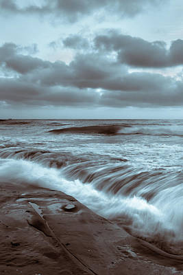 Photograph - Tide Falls by Peter Tellone