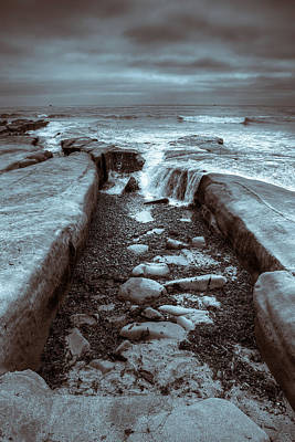 Photograph - Tide Pool Falls by Peter Tellone