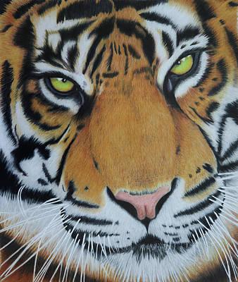 Painting - Tiger King by Melanie Feltham