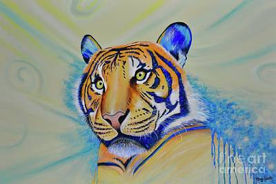 Painting - Tiger by Mary Scott