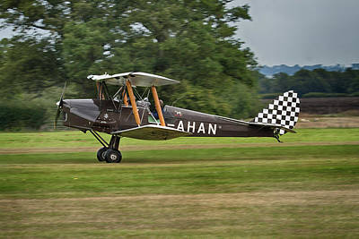 Outerspace Patenets Rights Managed Images - Tiger Moth G-AHAN Royalty-Free Image by Dave Godden