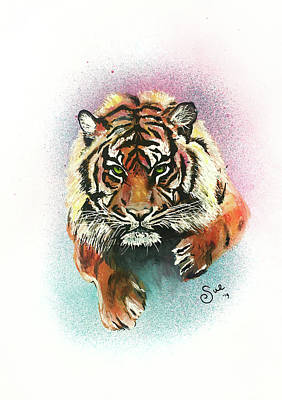 Painting - Tiger by Sue Art studio
