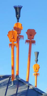 Photograph - Tiki Palm Springs by Matthew Bamberg