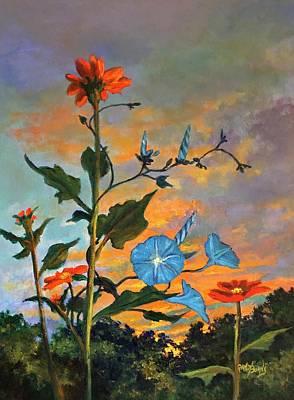 Painting - Til The Break Of Dawn by Randy Burns