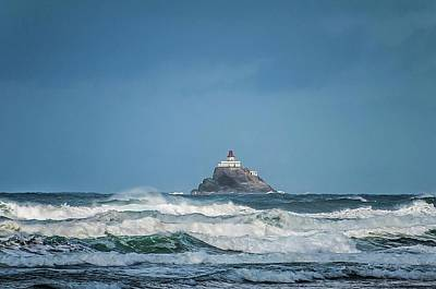 Photograph - Tillamook Rock Lighthouse Near Cannon Beach by NaturesPix