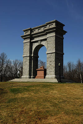 Photograph - Tilton Memorial Arch by Paul Mangold