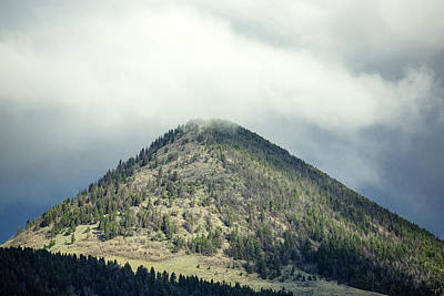 Photograph - Timber Butte by Todd Klassy