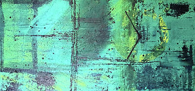 Abstract Royalty-Free and Rights-Managed Images - Time in Space A1701 by Abstracts By Debera