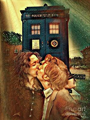 Photograph - Time Lords United  by Amanda Kessel