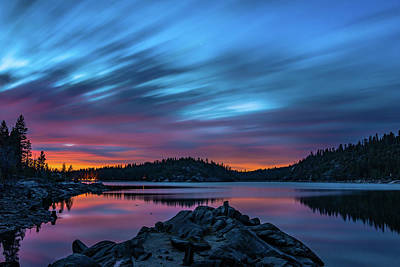 Photograph - Time Lost In Sunset by Mathew Brown