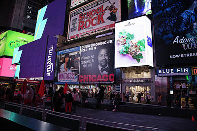 Photograph - Time Square by Jacqui Boonstra
