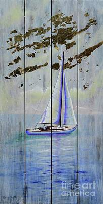 Painting - Time To Sail by Mary Scott