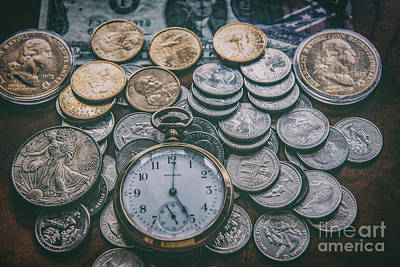 Photograph - Time Vs Money by Dale Powell