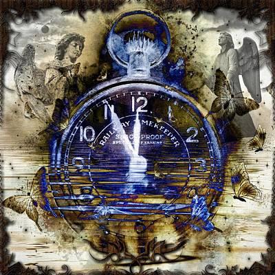Digital Art - Timekeeper by Michael Damiani