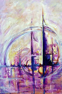 Painting - Timelessness by Teya Sherman