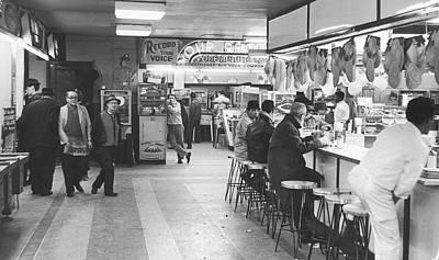 Times Square Arcade, 1964 Art Print by Fred W. McDarrah