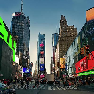 Photograph - Times Square - Dec 2018 by S Paul Sahm