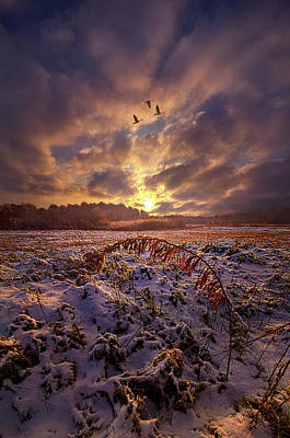 Art Print featuring the photograph Times They Changed by Phil Koch