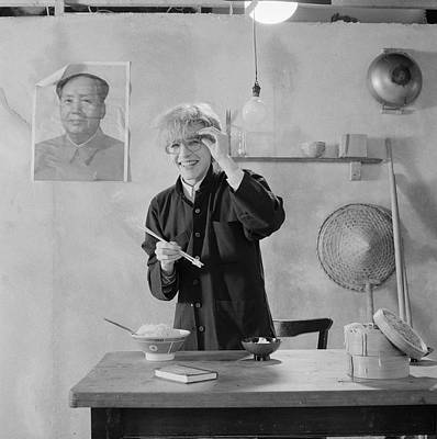 Photograph - Tin Drum David by Fin Costello