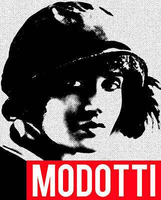 Mixed Media - Tina Modotti by MB Dallocchio