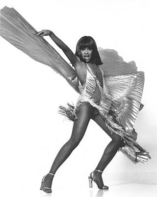 Photograph - Tina Turner Portrait Session by Harry Langdon
