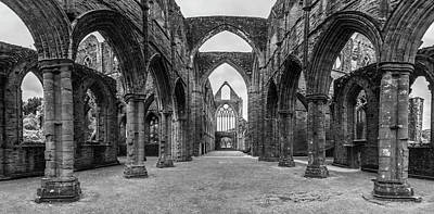 Photograph - Tintern Abbey Wales Uk  by John McGraw