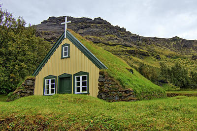 Too Cute For Words - Tiny Church Iceland 2 HDR by Chad Hamilton