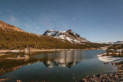Photograph - Tioga Lake Stars by Al Hann