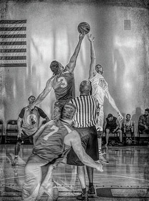 Photograph - Tip Off by Ronald Santini