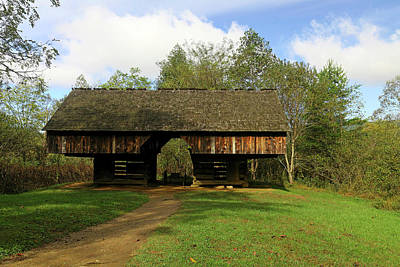 Whats Your Sign - Tipton Barn Cades Cove by Judy Vincent