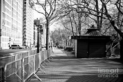 Photograph - To Central Park West New York City by John Rizzuto