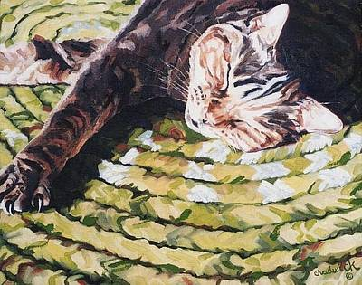 Painting - Tobey by Phil Chadwick