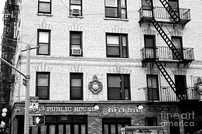 Photograph - Toby's Public House New York City by John Rizzuto