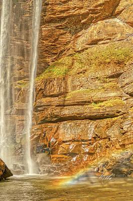 Photograph - Tocca Falls Rainbow by Meta Gatschenberger