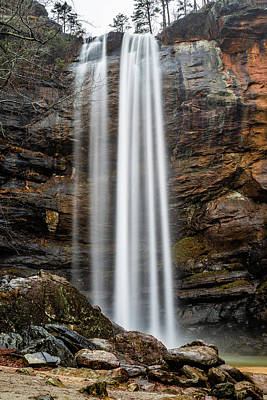 Photograph - Toccoa Falls by Michael Sussman