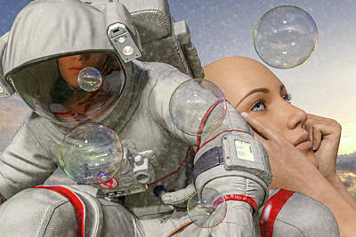 Surrealism Digital Art - Today Inspires Tomorrow  by Betsy Knapp