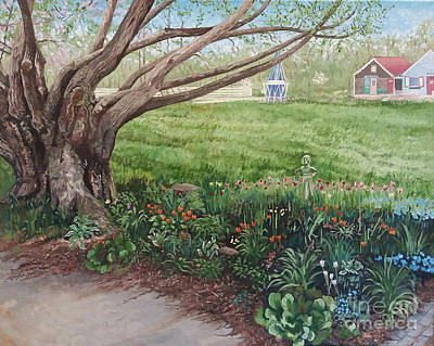Painting - Today's Garden by Michelle Curry