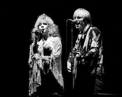 Photograph - Tom Petty Live by Larry Hulst