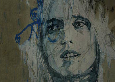 Rock Legend Wall Art - Painting - Tom Petty - Resize  by Paul Lovering