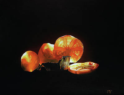 Painting - Tomato and foil cup by Peter Thomas Foster