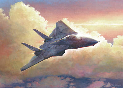 Painting - Tomcat by Douglas Castleman