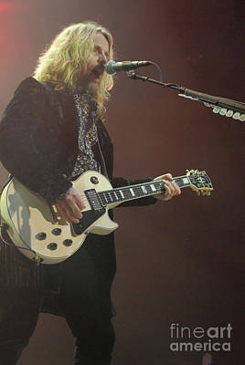 Photograph - Tommy Shaw, Styx  by Jenny Potter