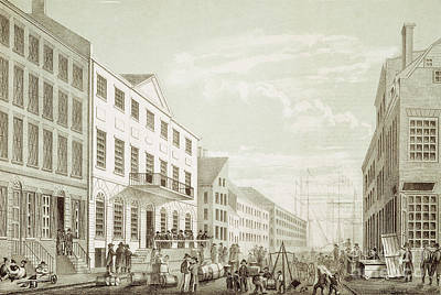 Photograph - Tontine Building, 1797 by Granger