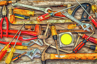Photograph - Tools Of The Trade #1 by Joseph S Giacalone