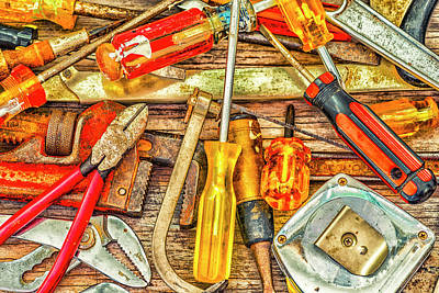Photograph - Tools Of The Trade #2 by Joseph S Giacalone