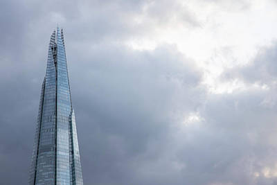 Photograph - Top Of The Shard In London  by John McGraw