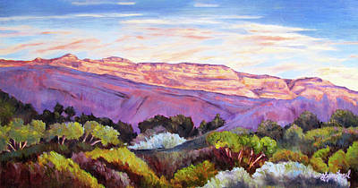 Ojai Wall Art - Painting - Topa Topas by Lynn Fogel