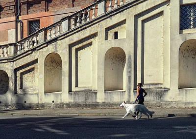 Photograph - Torino Joggers by Jim Hill